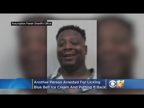 Kerry Collins - COPYCAT ICE CREAM LICKER ARRESTED!
