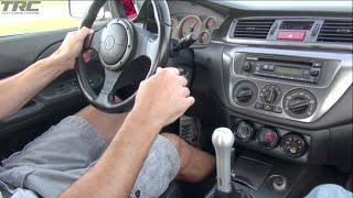 1100HP Porsche runs sequential gearbox Evo IX on the street!
