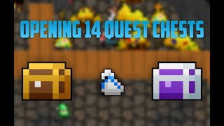 [RotMG] Opening 14 Quest Chests + Bonus Whites