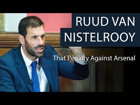 Ruud van Nistelrooy | That Penalty Against Arsenal | Oxford Union