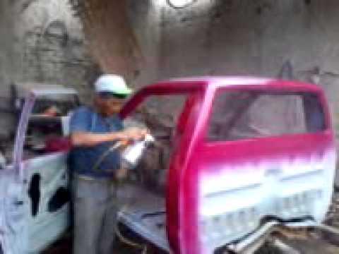 Pintando La Camioneta Santa Rosa Youtube