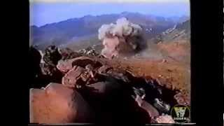 Дагестан 1999г. Су-25 уничтожает боевиков