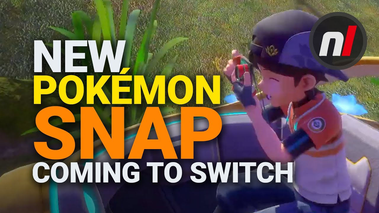 A new 'Pokemon Snap' game is coming to Nintendo Switch, and ...