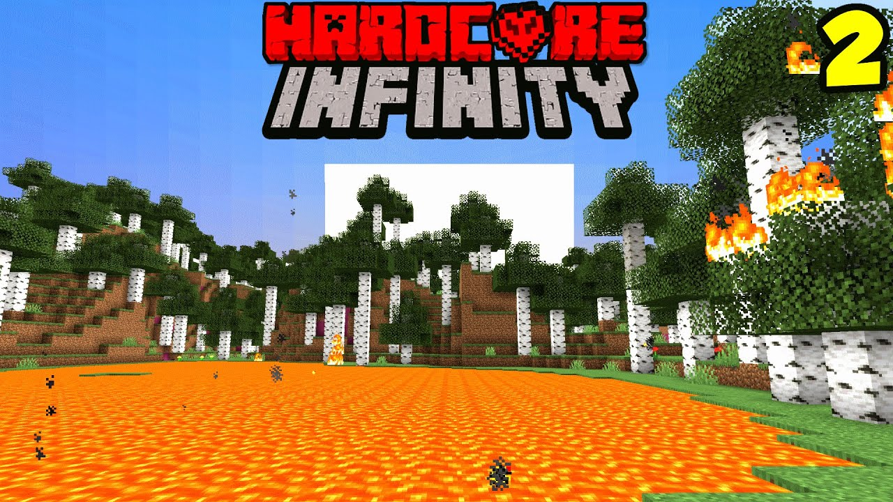 Hardcore Minecraft, But There's Infinite Dimensions | Episode 2