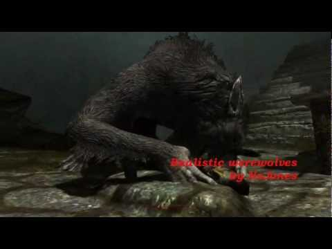 Skyrim Mods: ''Realistic Werewolves'' (Renamed to Heart of the Beast) - Werewolf sounds