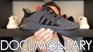 Adidas EQT Support 93/17 Triple Black Review • Why I Like the EQT 93/17 (Reupload) | DOCUMONTARY