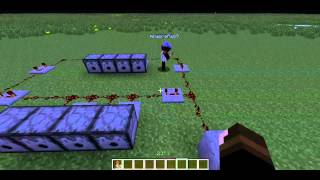 Minecraft How To: Easy Automatic Firework Display