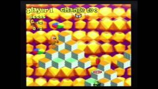 Q-Bert 3 (SNES) - World 1-3 Playthrough