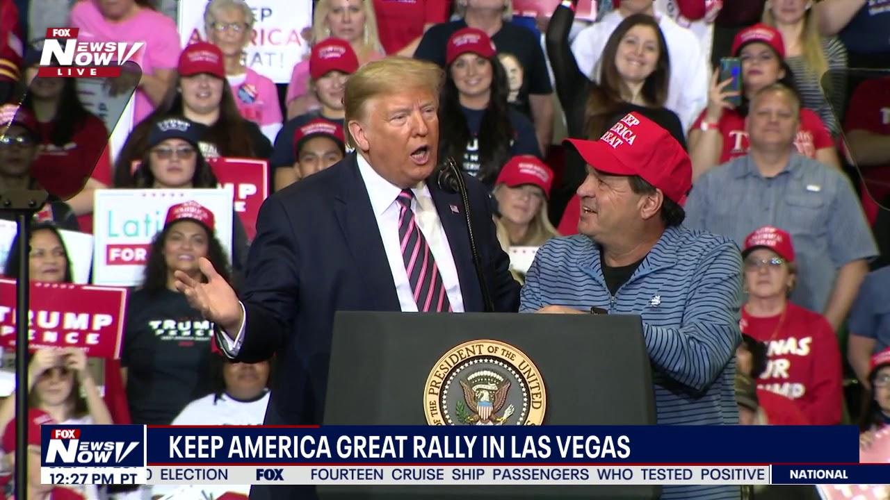 FULL RALLY: President Donald Trump | Las Vegas, Nevada