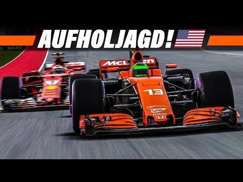 F1 2017 KARRIERE S3E17 – Aufholjagd beim USA GP | Let's Play Formel 1 4K Gameplay German