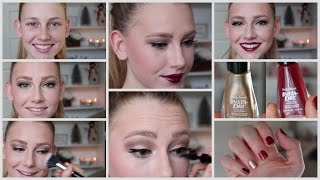Thanksgiving Day Makeup + Festive Nails Thumbnail