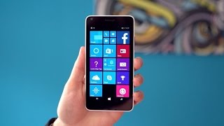 The fun, plastic Microsoft Lumia 640