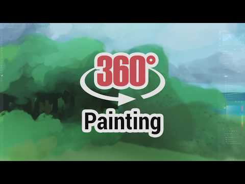 Learn 360° Painting in Photoshop (Panoramic Painting)
