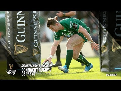 Guinness PRO14 Round 17 Highlights: Connacht Rugby v Ospreys