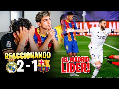 HINCHAS del BARÇA REACCIONAN al REAL MADRID 2 - 1 BARÇA *hemos perdido la liga...* - xBuyer