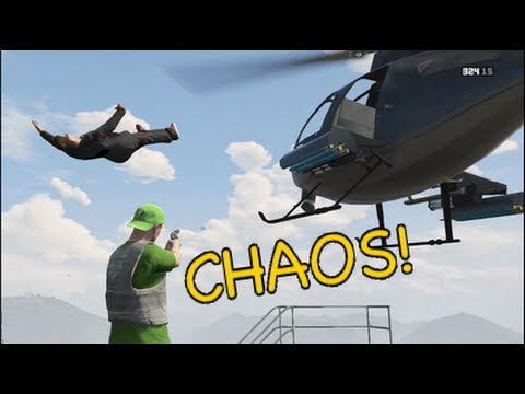 GTA 5 ONLINE: MORE CHAOS W/ DownRangeGaming