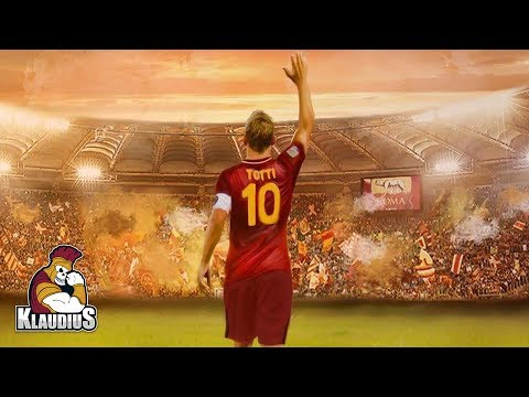 CIAO FRANCESCO - L'ultimo giro di campo di Totti HD