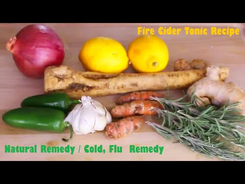fire-cider-tonic-|-natural-remedy-recipe-|-cold,-flu-remedy-|-immune-system-booster-|-all-natural