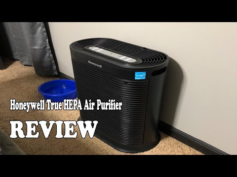 Review Honeywell True HEPA Air Purifier 2020