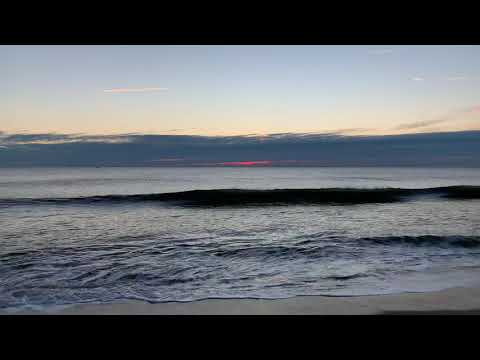 Sunrise Ocean City Maryland December 7, 2018