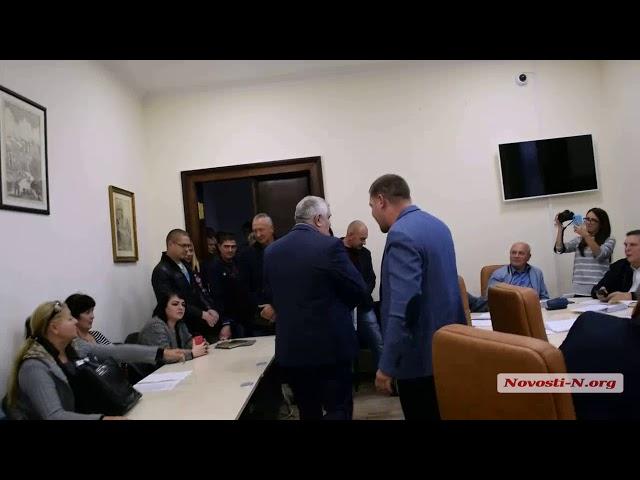 Видео Новости-N: Общение депутата Вячеслава Янкова с жителями Николаева