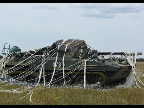 Parachute landing system for military vehicles to be tested in Russia