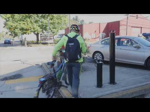 Bike repair station installed on Trolley Trail