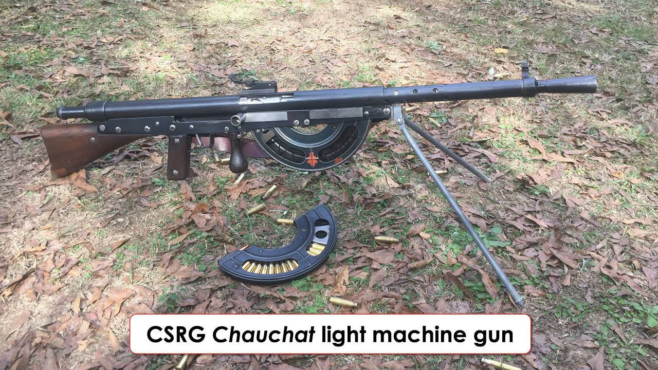 chauchat light machine gun