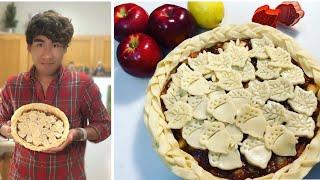 How to make Cąramel Apple Pie 🥧 - Autumn Pie