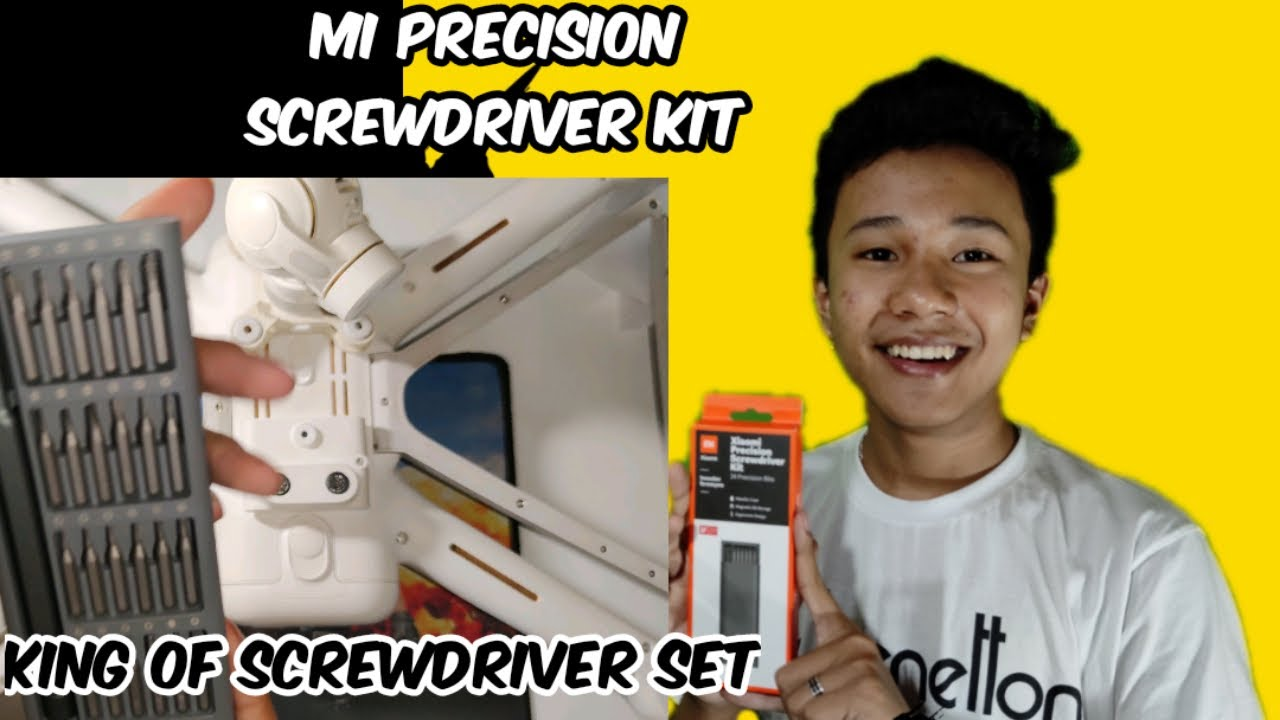 Download Xiaomi Mi Precision screwdrivers kit unboxing#A must for all gadgets lover like me😅