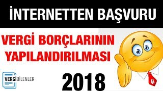 2018 VERGİ AFFI İNTERNET ÜZERİNDEN BAŞVURU (Altyazı desteği ile)