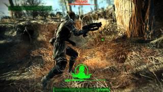 Fallout4. Легендарный Мифический Коготь Смерти vs кучка Кованных
