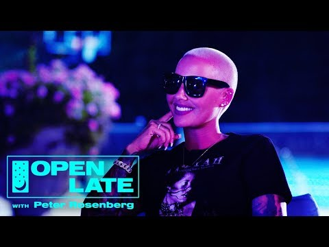 Amber Rose Opens Her Home to Rosenberg + Trinidad James & Kodie Shane| Open Late w Peter Rosenberg