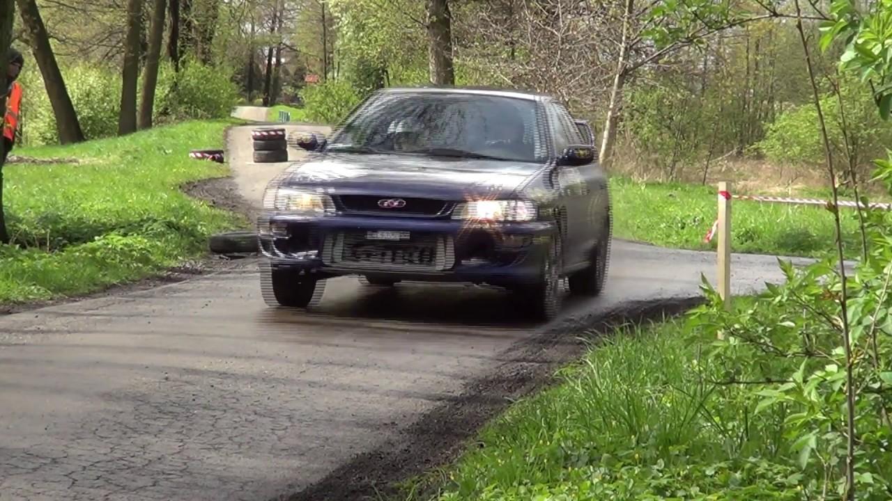 2 Runda Rajdowy Puchar Śląska 2017 – Piotr Troszok / Anna Gabryś – Subaru Impreza
