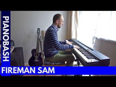 Fireman Sam Original 1987-1994 Theme Tune | Piano Bash
