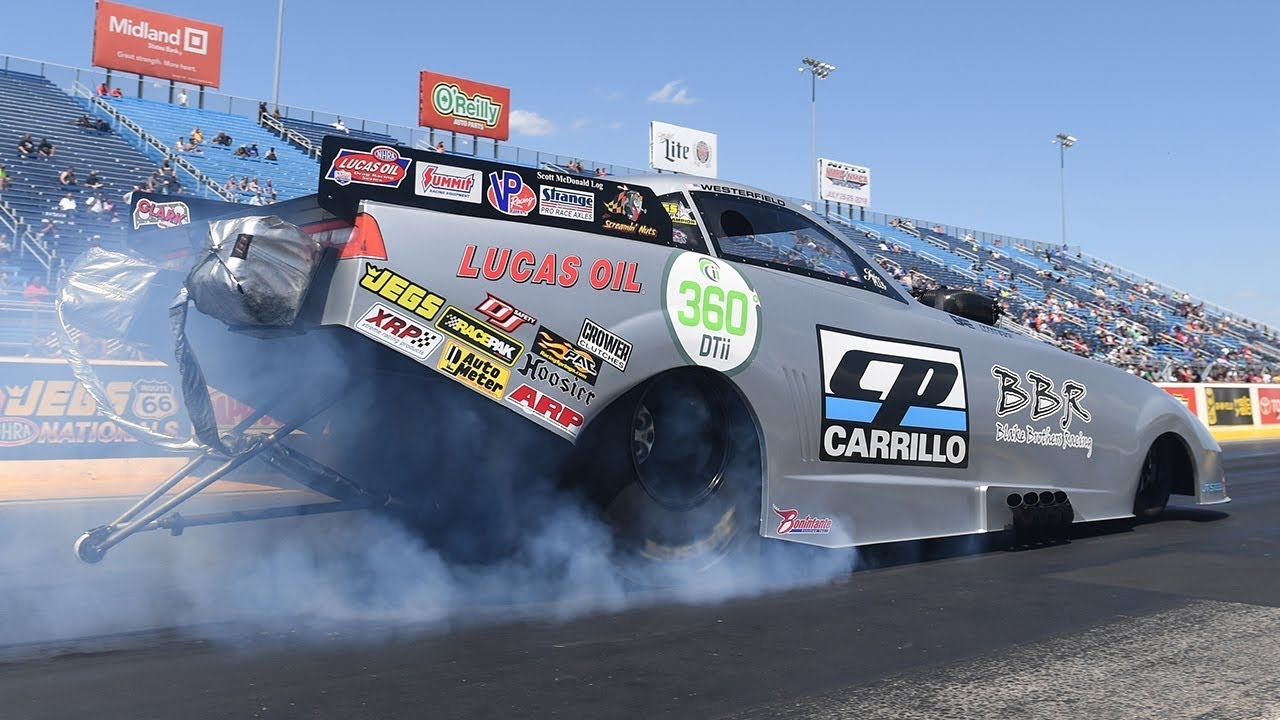 2018 JEGS All Stars Top Alcohol Funny Car winner Shane Westerfield