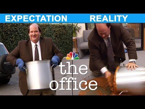 Thanksgiving: Expectation vs. Reality - The Office Mp3