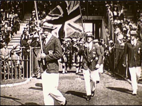 Jeux Olympiques 1924 (Paris) Cérémonie d'Ouverture / Paris Olympics (1924) Opening Ceremony