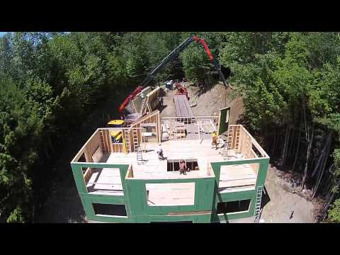 Harvest Homes Panelized Construction from a Birds Eye View