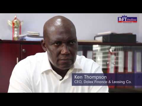 Ken Thompson, CEO of Dalex Finance & Leasing Co. talks to B&FT