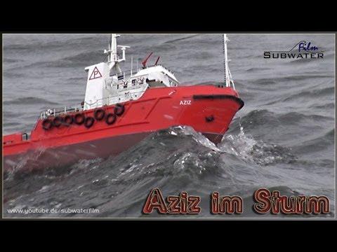 Sturm Auf (dem) See - R/C Offshore Versorger