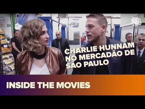 CHARLIE HUNNAM NO MERCADÃO DE SP! I Inside Movies