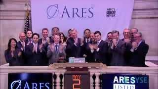 Ares Management Celebrates IPO on the New York Stock Exchange