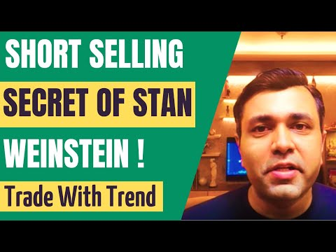 HOW TO SHORT SELL Stocks (STAN WEINSTEIN Trading Method) 🔥🔥