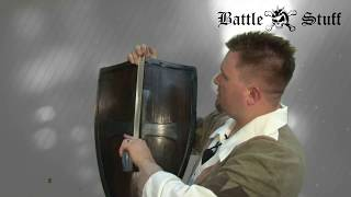 LARP Medieval Crusaders Shield Wood and Metal by Epic Armoury
