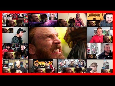 Avengers Infinity War Trailer Reaction Mashup