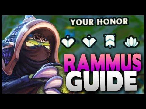 How To Play Rammus Jungle! LOW ELO STOMPER (still OP After Nerfs!) League Of Legends