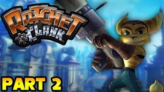 Ratchet & Clank Walkthrough No Commentary - Part 2