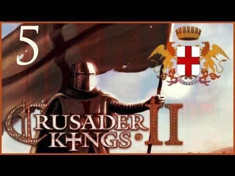 Crusader Kings II, Genoan Holy Doge #5 - Raging quite a bit |