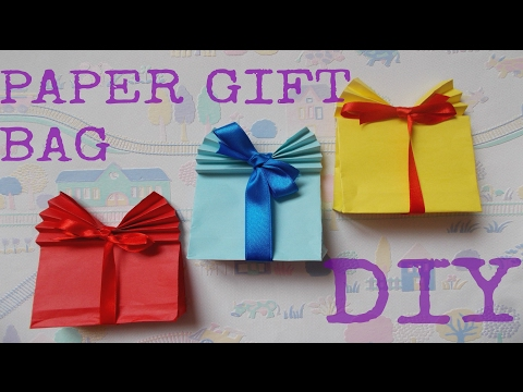 Gift wrapping ideas: DIY gift bag   How to wrap presents   Maison Zizou